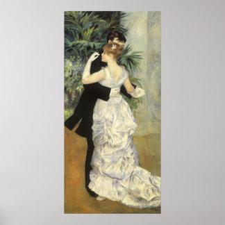 City Dance by Renoir Vintage Impressionism Art Posters