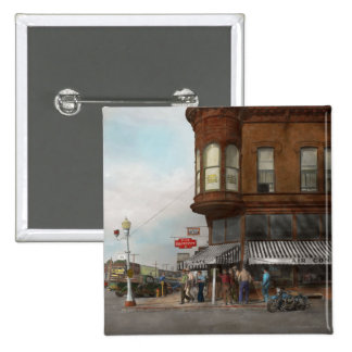 City - Dillon, Montana - Today's my day off - 1942 15 Cm Square Badge