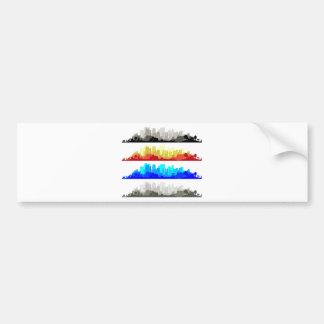 City Edge Bumper Sticker