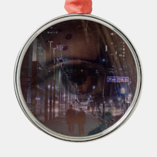 city eyes christmas ornament