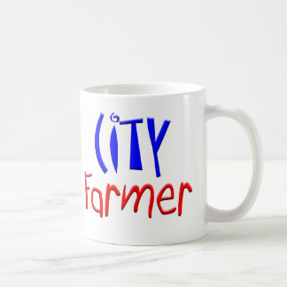 City Farmer Basic White Mug