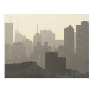 City Fog Postcard