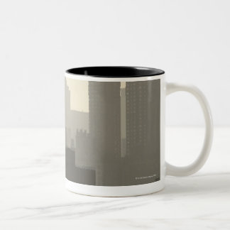 City Fog Two-Tone Mug