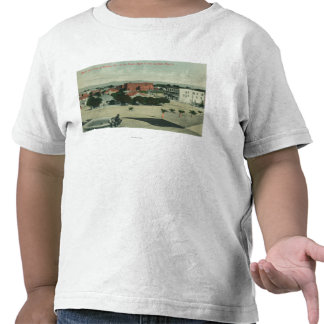 City from Southern Pacific Shasta Route Tshirts