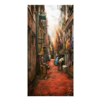 City - Germany - Alley - The other half 1904 Photo Card