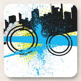 City Graffiti Beverage Coaster