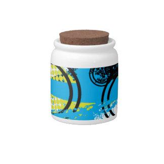 City Graffiti Candy Jars