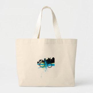 City Graffiti Canvas Bag