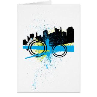 City Graffiti Card