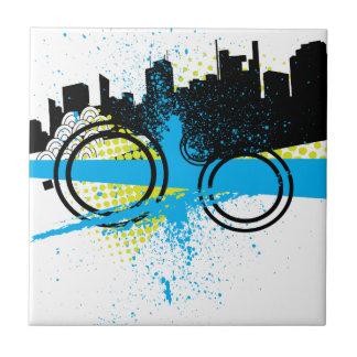 City Graffiti Ceramic Tile