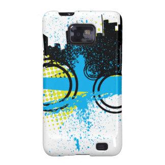 City Graffiti Galaxy SII Cases