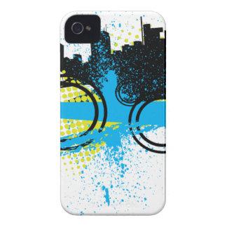 City Graffiti iPhone 4 Cases