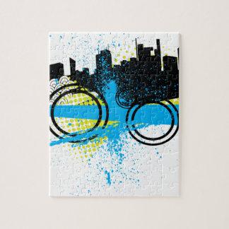 City Graffiti Jigsaw Puzzle