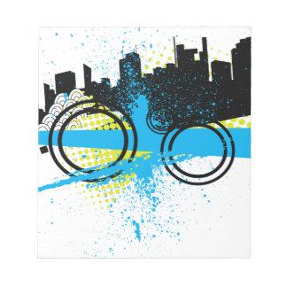 City Graffiti Memo Pads