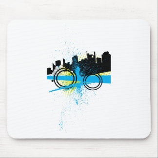 City Graffiti Mouse Pad