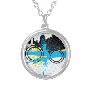 City Graffiti Necklace