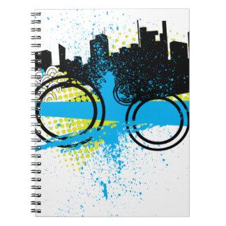 City Graffiti Note Book
