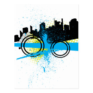 City Graffiti Postcard