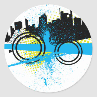 City Graffiti Stickers