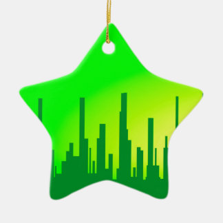 City Greenscape Ceramic Star Decoration