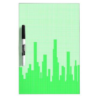 City Greenscape Halftone Dry Erase Boards