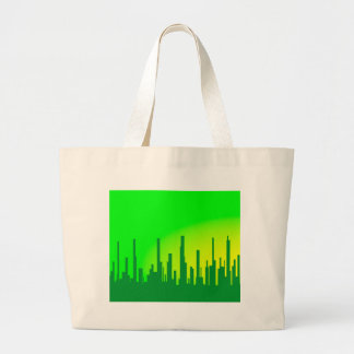 City Greenscape Large Tote Bag