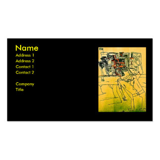 CITY GUIDE Double-Sided STANDARD BUSINESS CARDS (Pack OF 100)