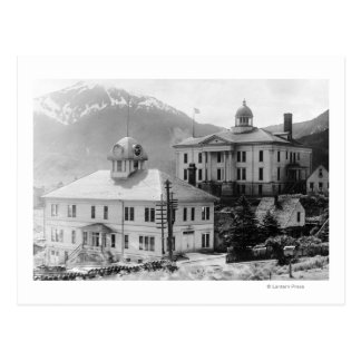 City Hall and Courthouse in Juneau Postcard