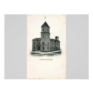 City Hall , Hillinga, Vintage Flyer