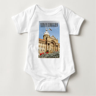 City Hall in Birmingham, England UK Baby Bodysuit