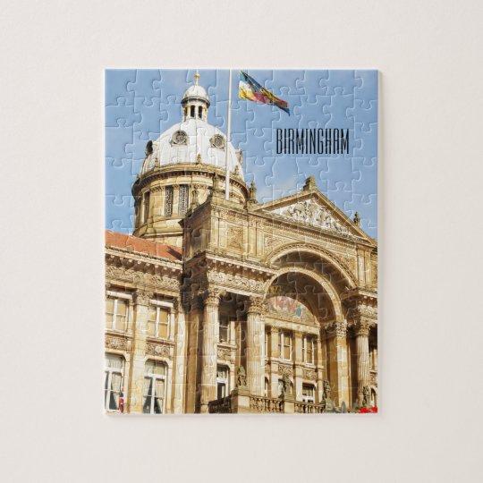 City Hall in Birmingham, England UK Jigsaw Puzzle