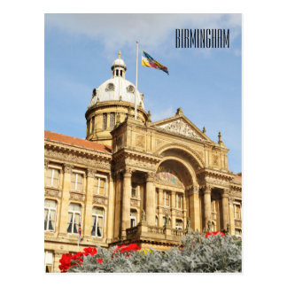 City Hall in Birmingham, England UK Postcard