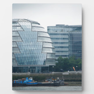 City Hall in London Photo Plaque