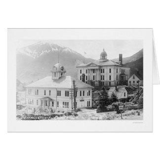 City Hall Juneau Alaska 1918 Cards