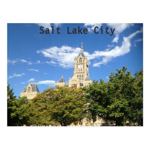 City Hall - Salt Lake City Post Cards