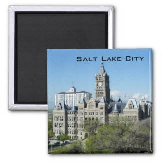 City Hall Square Magnet