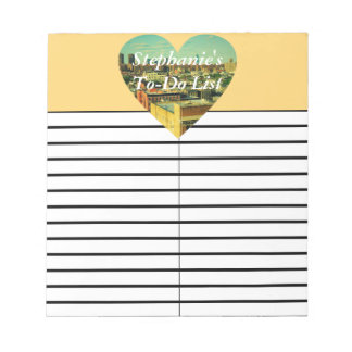 City Heart To-Do/Shopping List Pad