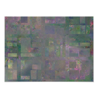 City in Blossom Mathematical Art Print