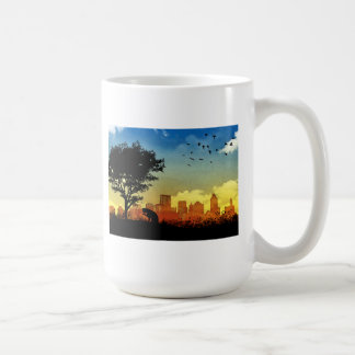 City Kitty Coffee Mug