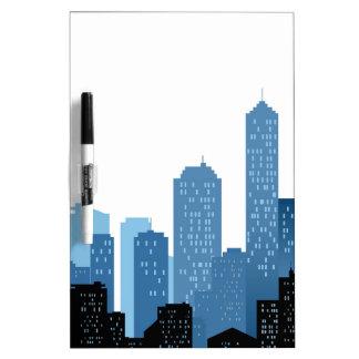 City Landscape Dry Erase Whiteboards