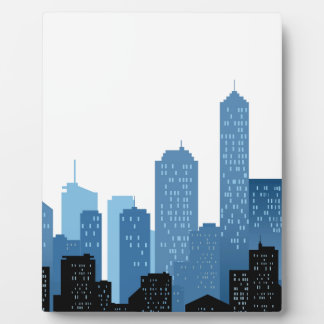 City Landscape Photo Plaques