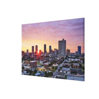 city life, canvas print