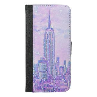 City Life iPhone 6/6s Plus Wallet Case