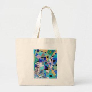 City Life Jumbo Tote Bag