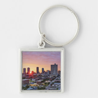 city life, key ring