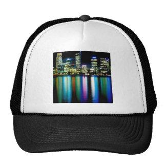 City lights cap