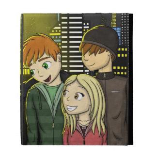 """City Lights"" iPad Folio Cover"