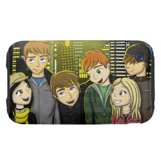 City Lights iPhone 3 Tough Cover