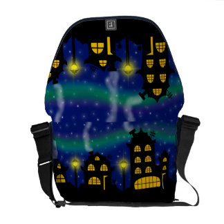 City lights courier bags