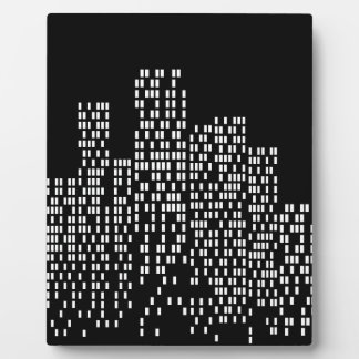 City Lights Display Plaque